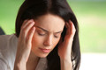 Frau Migräne Depressionen